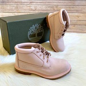 Timberland Pink Nellie Chukka Waterproof Boots